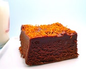 1/2 Pound Orange Chocolate Fudge