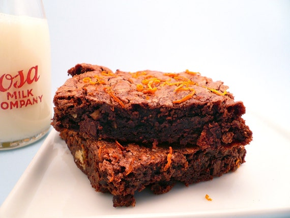 Orange Chocolate Brownies