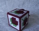 Flower heart gift box potpourri box