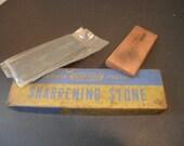 Vintage 3 Piece Norton Sharpening Stone