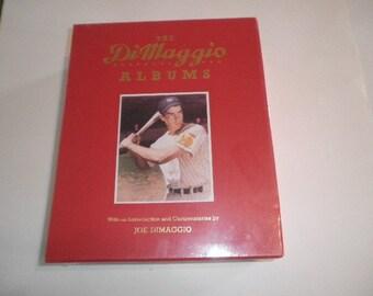 Rare, Never Opened Joe Dimaggio 2 Album Set