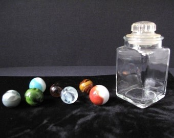 Old Multi Colored Marbles