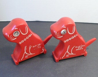 Red Electric Eye Doggie My Pal Rare Vintage Toys