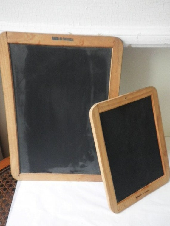 Pair of Chalkboards from Portugal