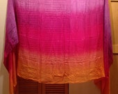 Silk Bellydance veil by Fairy Cove silks-Reselling