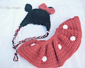 SALE Minnie Mouse set (made to order)