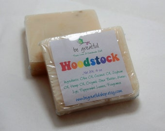 Woodstock Vegan Cold Process Soap Bar