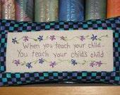 When Teach Your Children - Tuck Pillow