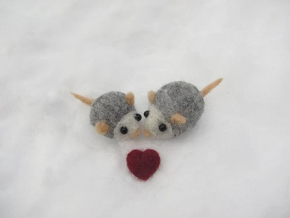 Two tiny mice
