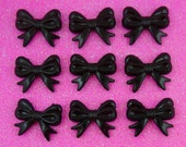 Black Bow Beads