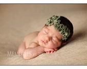 Alana - Wool Felt Flower Headband