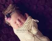 Norah - Wool Felt Flower Headband