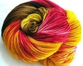 Super wash Merino Yarn Hand Dyed (HKO17)