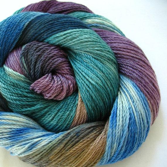 Silk/Merino Yarn Hand Dyed (HCA23)