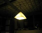 Origami Pyramid Pendant Light