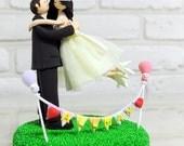 Love sign bunting banner wedding cake topper decoration gift keepsake