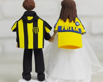 Sports team jersey custom wedding cake topper Decoration Gift - My favorite sports teams