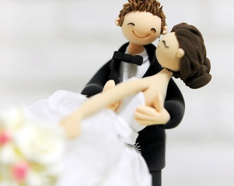Entirely rely on you personalized wedding cake topper decoration gift keepsake