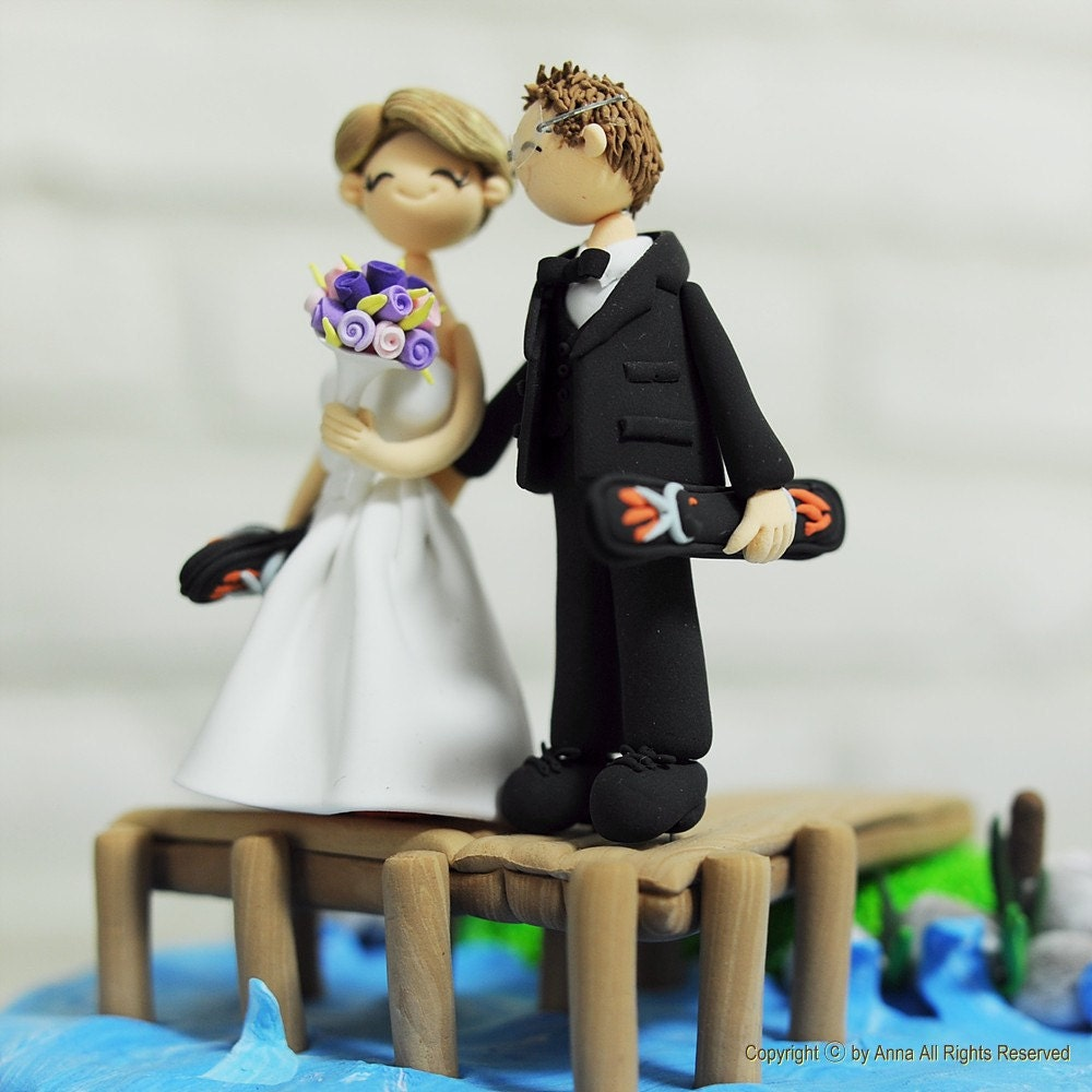 water ski wedding cake topper chandeliers amp pendant lights 21682