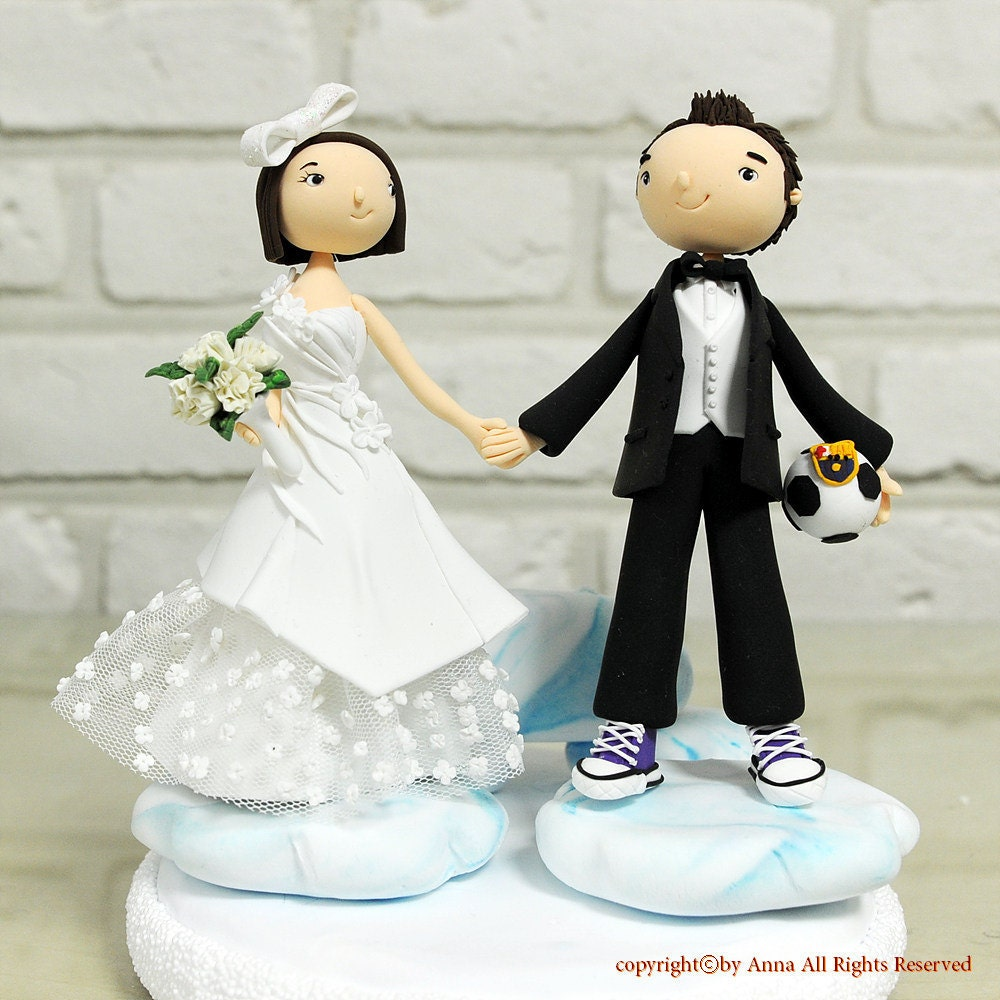 Caricature Wedding Cake Toppers