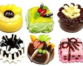 Mini cake, set of 6 pieces