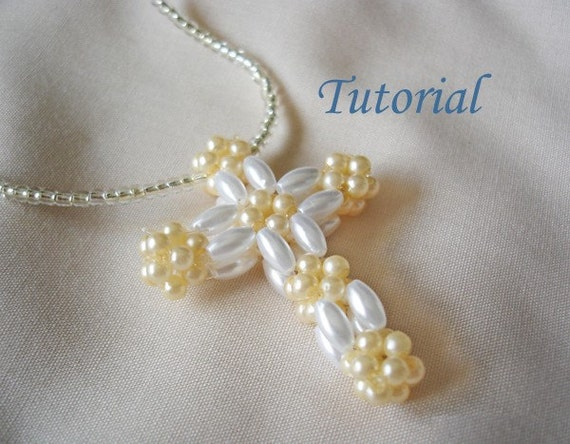 Beaded Cross Tutorial 2015 | Home Design Ideas