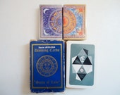 Old Fortune Telling Cards - Vintage Card Deck Suits of Love - Vintage Fortune Telling Card Deck