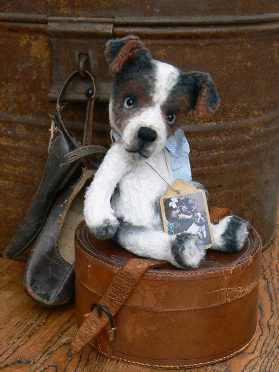 "Sewing Pattern For 6.5 inch Jack Russel ""Jacky"" PDF file"