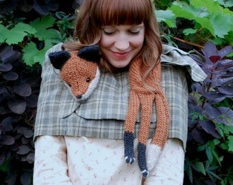 mr. fox stole my heart KNITTING PATTERN
