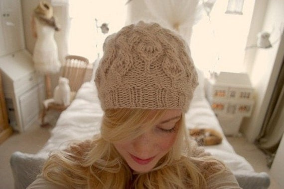 parseltongue hat KNITTING PATTERN