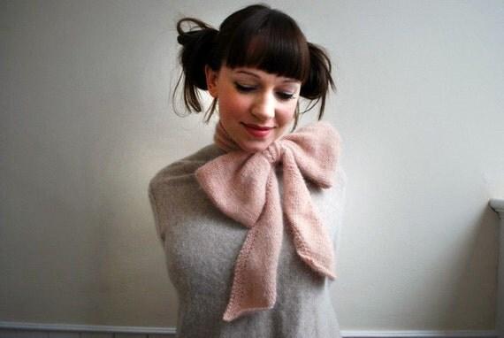 bo peep scarf KNITTING PATTERN