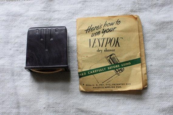 Vestpok Dry Shaver For the Gents