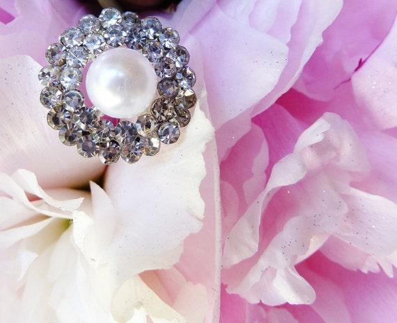 Rhinestone Bouquet Picks- set of 8- wedding bridal bouquet jewelry