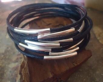 BLACK BANGLES Bracelets set of 10 (249)