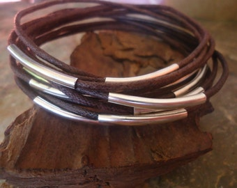 DARK BROWN BANGLES Bracelets set of 10 (256)