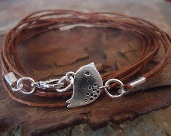 SILVER PIEPS wrap bracelet from bands & bird (70)