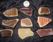 200 year old Beach Pottery Shards