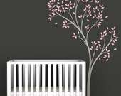 Spring Tree Wall Decal - Delicate tree decal - Kids Wall Decor
