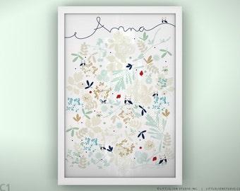 """Baby Art Print - Yogurt - Unframed Print - 13 x 19"""""""