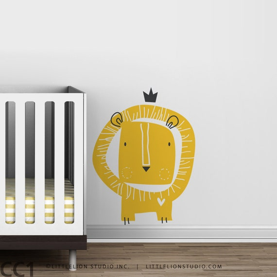 Baby Zoo Lion King Wall Decal - Fun Kids decor