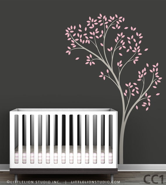 Spring Tree Wall Decal by LittleLion Studio