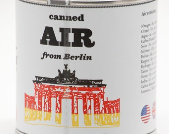 Original Canned Air From Berlin, gag souvenir, gift, memorabilia