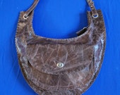Burning man Round shoulder bag