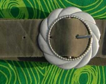 Buckle belt - handmade belt