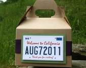 Wedding Welcome Bag/Basket - Partying Favor - California Plate Theme