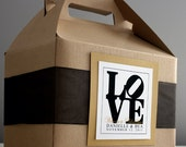 Custom Hotel Overnight OOT Welcome Box Love Park Theme