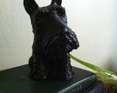 vintage cast iron Scotty Terrier bank