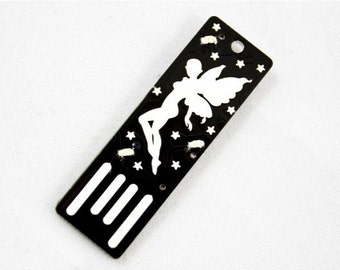Fairy USB Circuit Board Magnet in Black - Lights Up