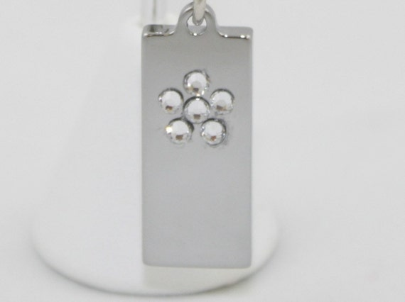 2GB USB Memory Silver Necklace