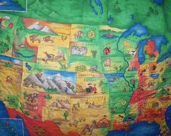 USA Map Quilt